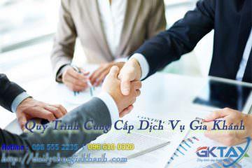 Quy trình cung cấp dịch vụ kế toán thuế Gia Khánh