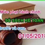 Mức phạt kế toán bị đẩy lên cao theo Nghị định 41/2018/NĐ-CP
