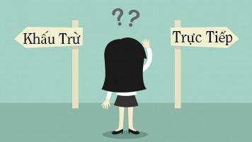Lựa chọn phương pháp kế khai thuế gia tăng thế nào là phù hợp?