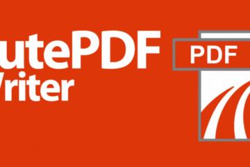Hướng dẫn cài phần mềm Cute pdf để in pdf từ phần mềm HTKK (Foxit reader)
